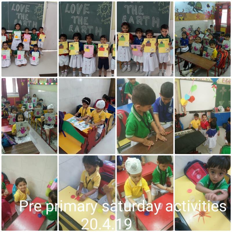 SATURDAY ACTIVITIES(20.4.19) | AKSIPS 41 Chandigarh