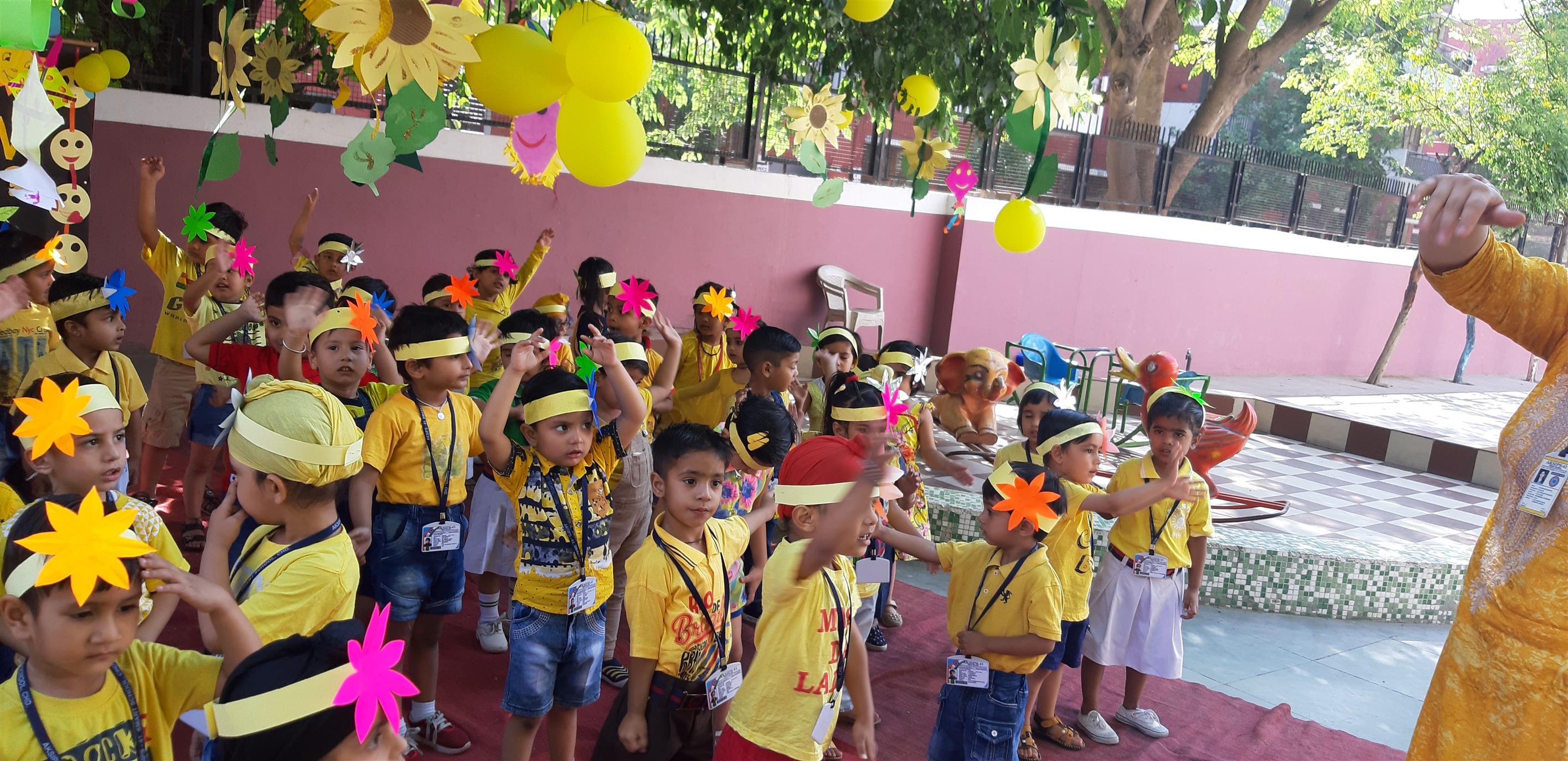 YELLOW DAY CELEBRATIONS | AKSIPS 41 Chandigarh