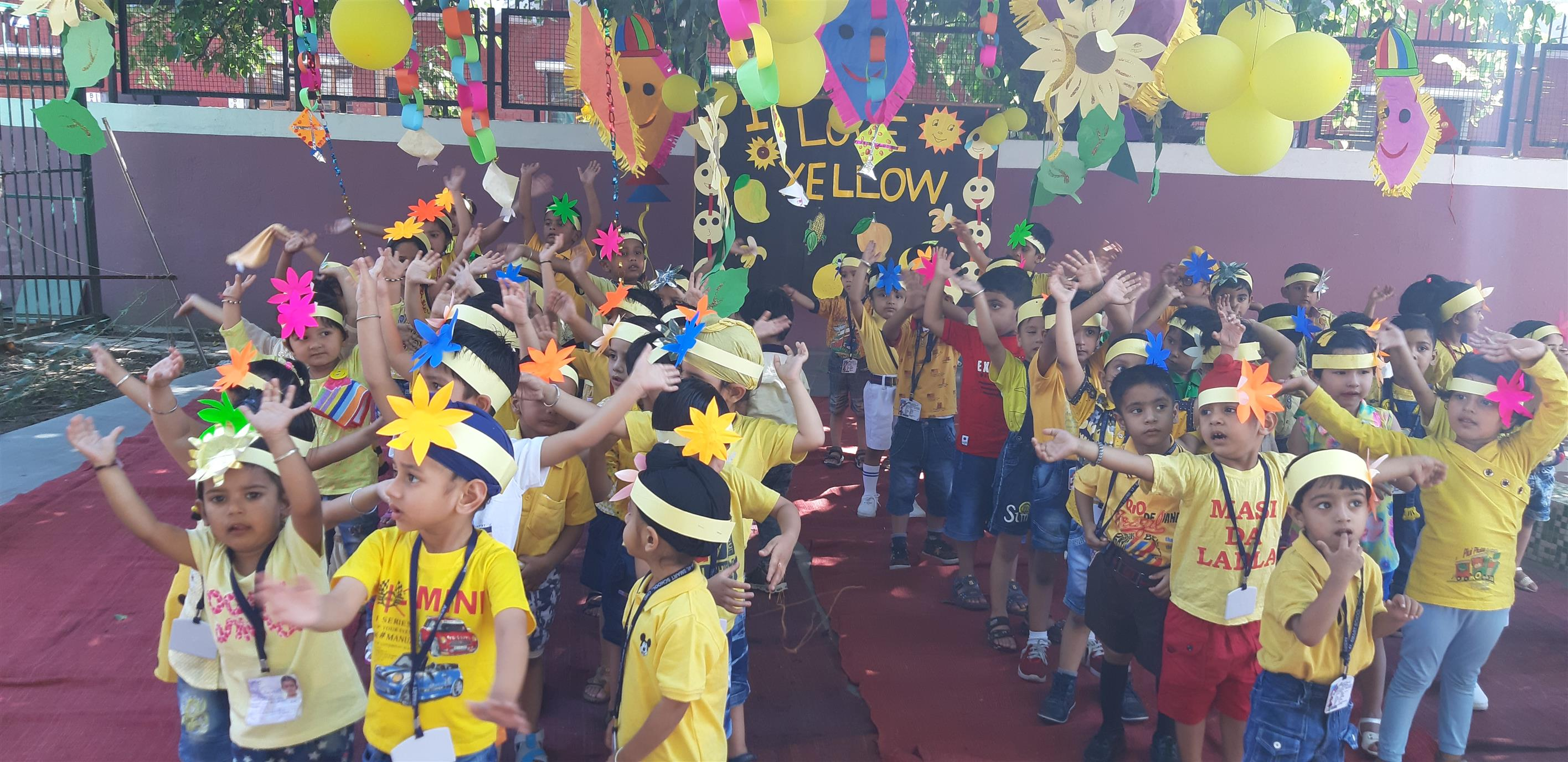 YELLOW DAY CELEBRATIONS | AKSIPS 41 Chandigarh