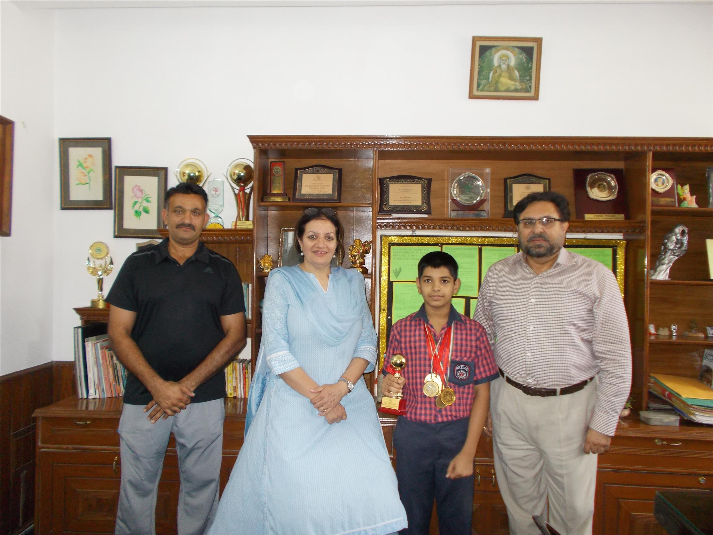 AKSIPS 41 Smart School's  Budding Swimmer | AKSIPS 41 Chandigarh