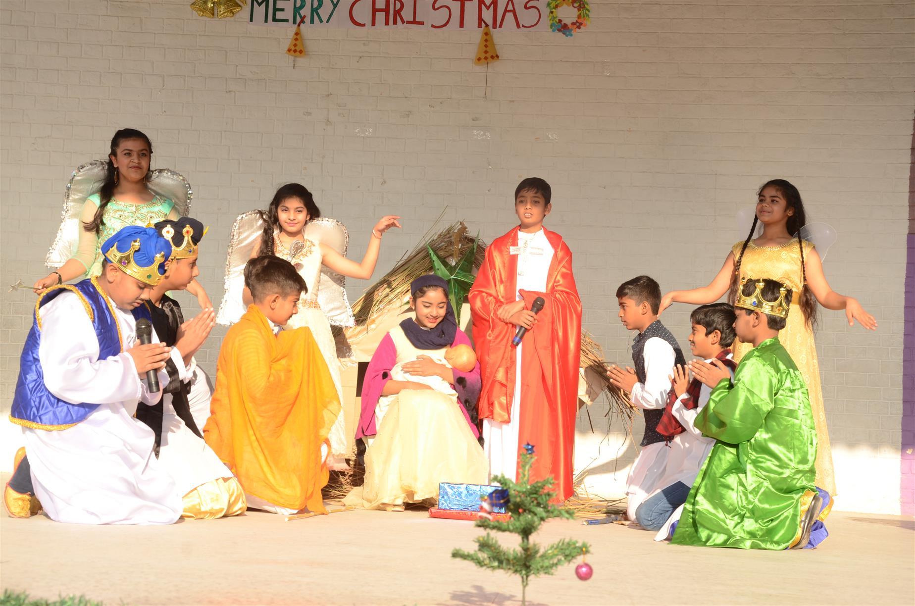 AKSIPS 41 Celebrates Christmas with great enthusiasm | AKSIPS 41 Chandigarh