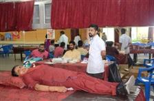 BLOOD DONATION CAMP AT AKSIPS 41 | AKSIPS SECTOR-41 CHANDIGARH
