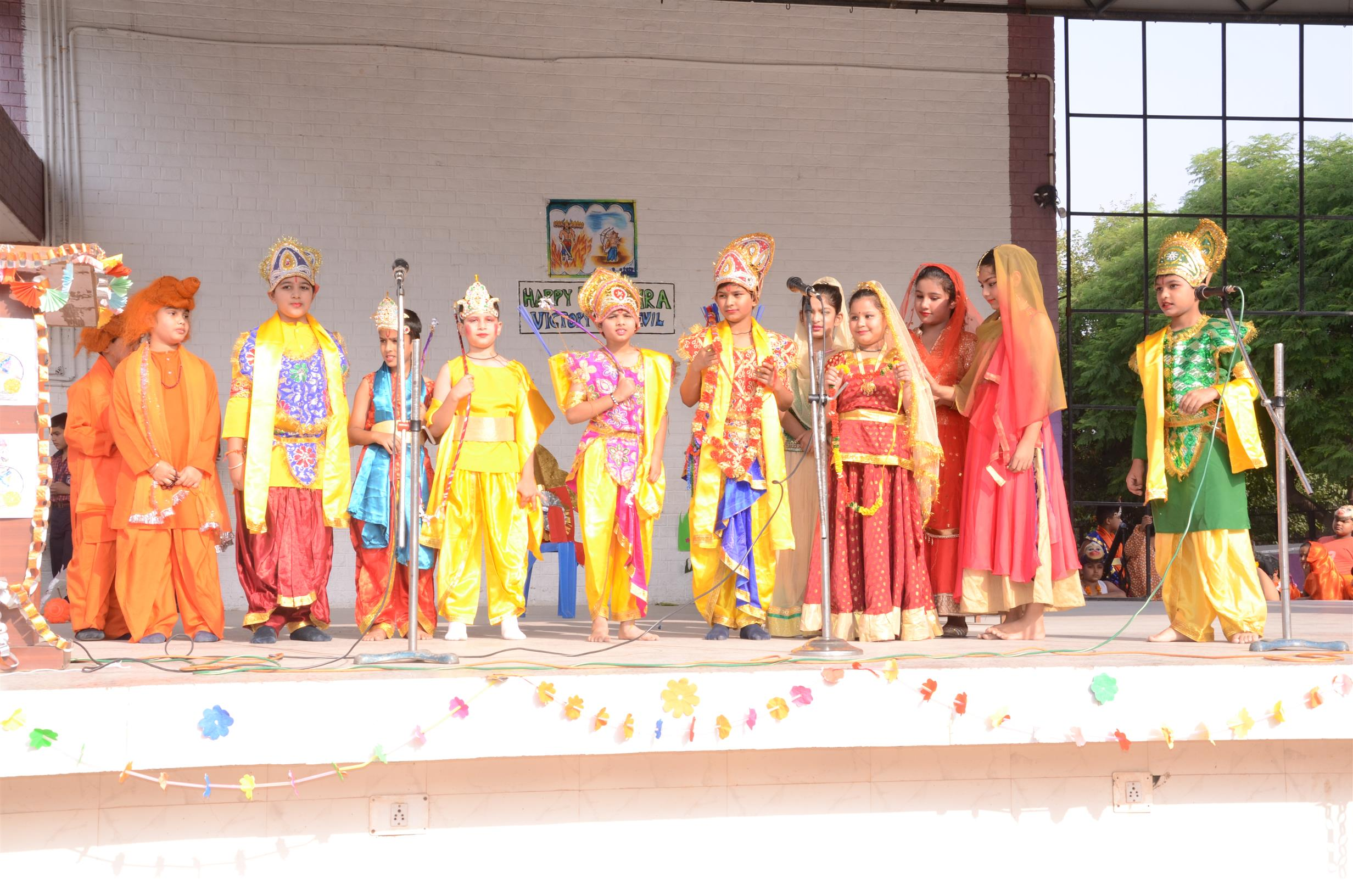 DUSSEHRA CELEBRATIONS | AKSIPS 41 Chandigarh