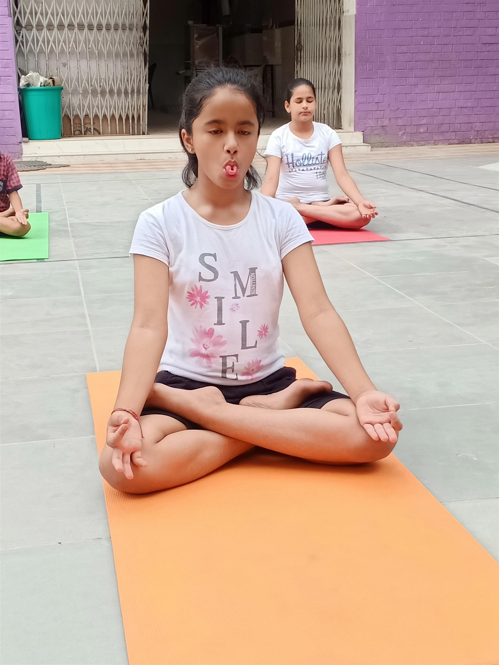 International Yoga day celebration | AKSIPS 41 Chandigarh
