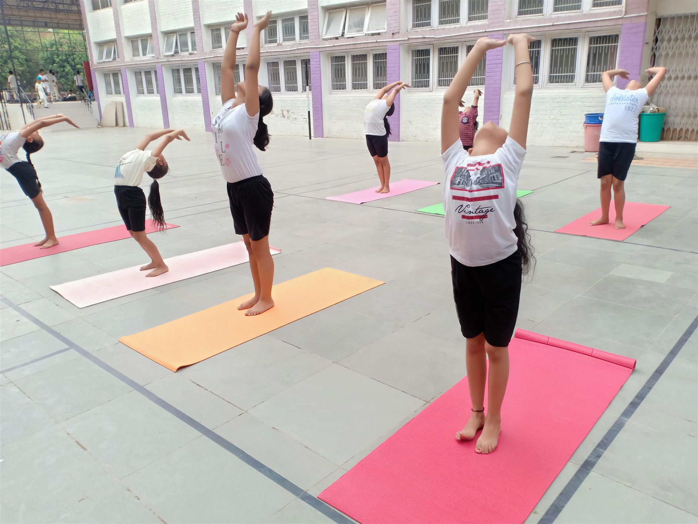 International Yoga day celebration | AKSIPS 41 Chandigarh