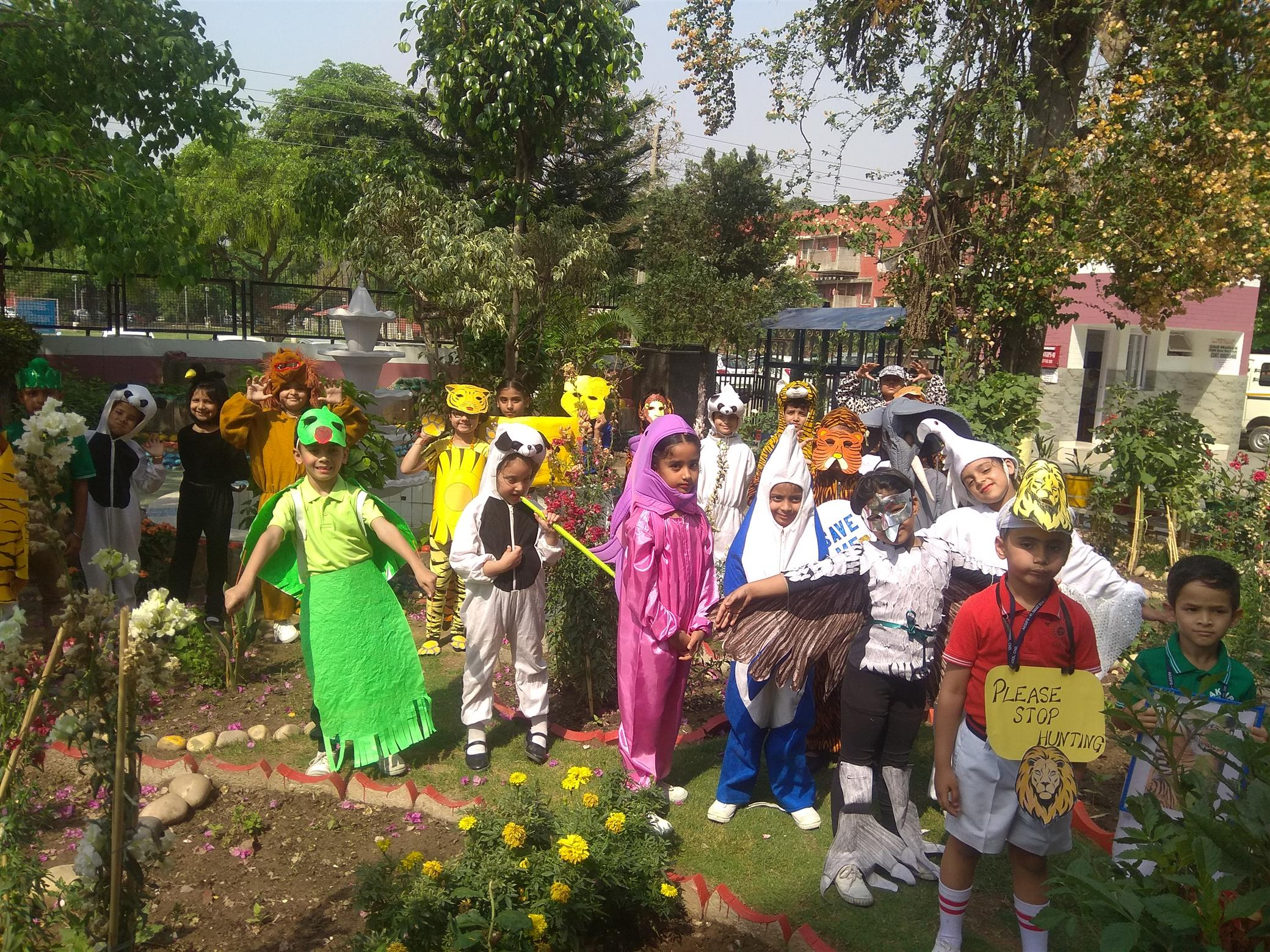 FANCY DRESS COMPETITION OF CLASSES 1 TO 3| AKSIPS 41 Chandigarh