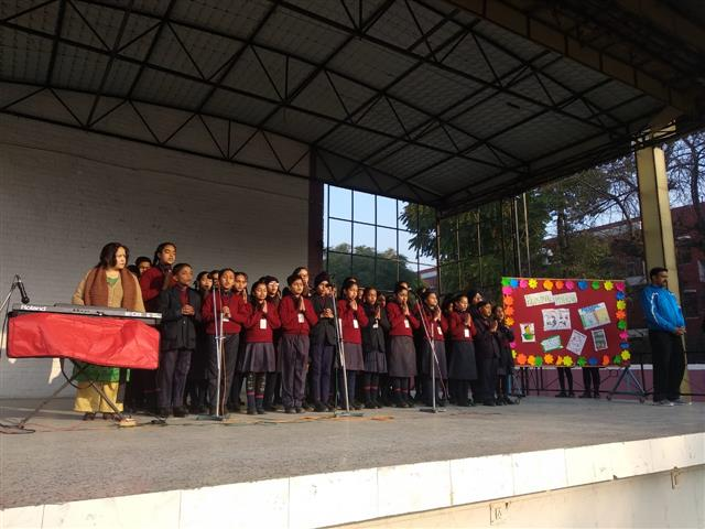 Assembly on 'Personal Hygiene' at AKSIPS 41 Smart School | AKSIPS SECTOR-41 CHANDIGARH
