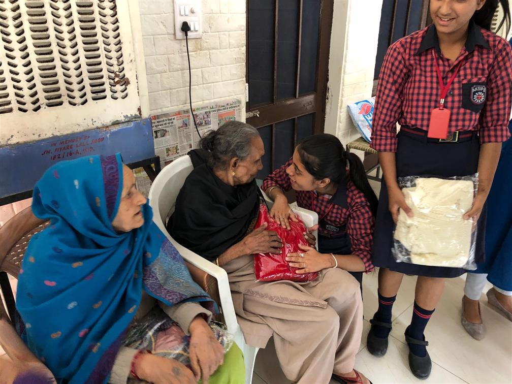 VISIT TO OLD AGE HOME | AKSIPS 41 Chandigarh
