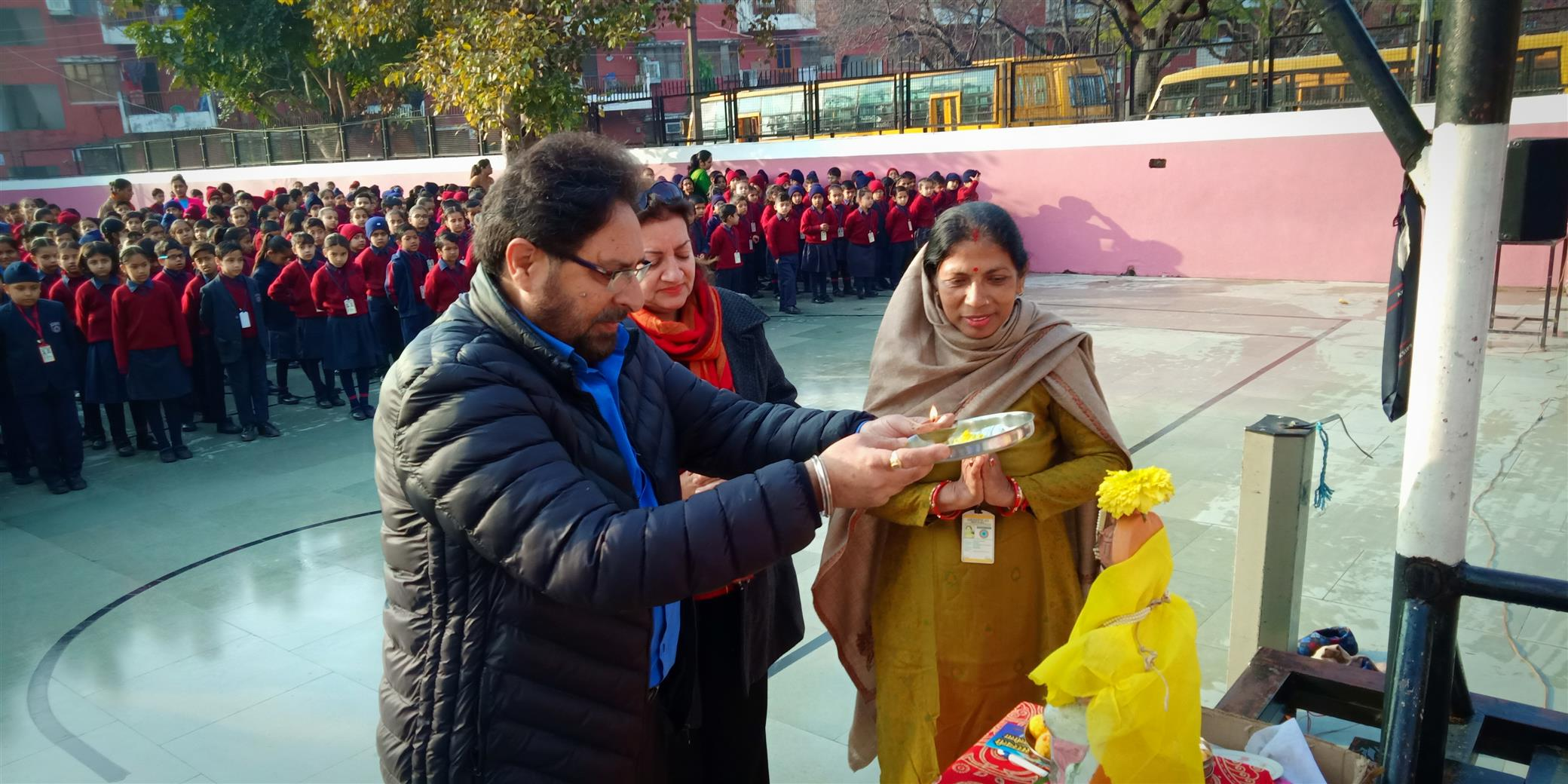 BASANT PANCHMI CELEBRATION | AKSIPS SECTOR-41 CHANDIGARH